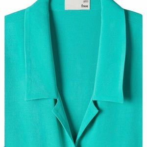 Wilfred Free - The Tie Front Blouse - Irish Moss